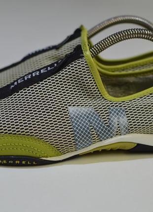 Треккинговые кроссовки, слипоны merrell barrado outdoor