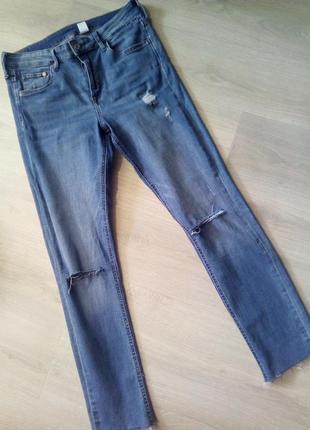 Брендовые джинсы h&m высокая посадка2