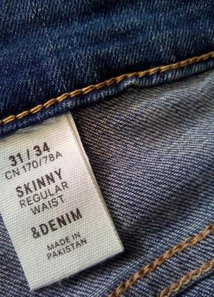Брендовые джинсы h&m высокая посадка5