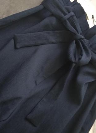 Шикарные брюки кюлоты с оборками на поясе от river island2 фото