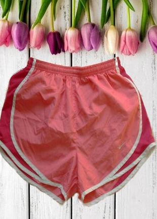🌹🌺стильные спортивные женские шорты коралловый  dri - fit nike s 🌹🌺🌹
