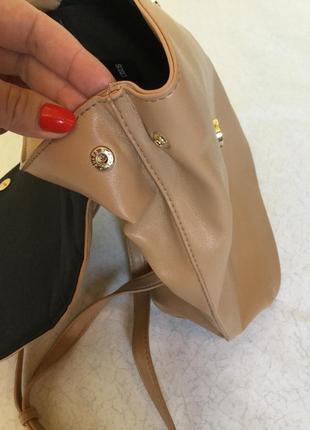 Рюкзак городской нюдового цвета asos4 фото