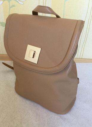 Рюкзак городской нюдового цвета asos5 фото