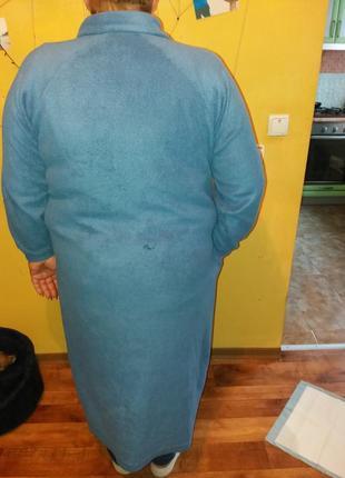 Флисовый халат с дефектом