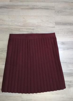 Плисированая юбка