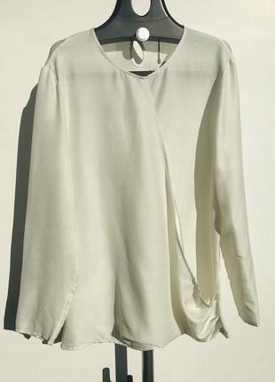 Женская блуза из вискозы mango размер l