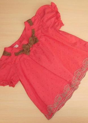 Нарядная туника, блузка, блуза monsoon 2-3 года, 92-98 см, оригинал