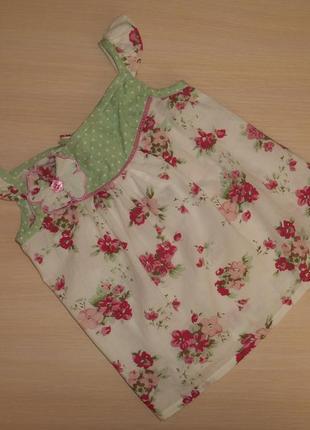 Блузка, блуза, майка miss e-vie 2-3 года 92-98 см, оригинал