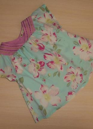 Нарядная блузка, блуза, туника  john lewis, 2 года, 92 см, оригинал