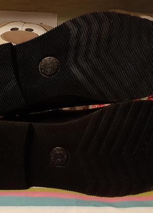 Демисезонные кожаные ботинки 39 р6 фото