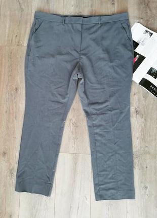 Серые классические брюки ellos plus size