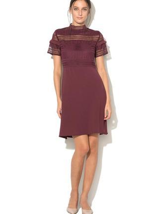 Платье с кружевом vila!