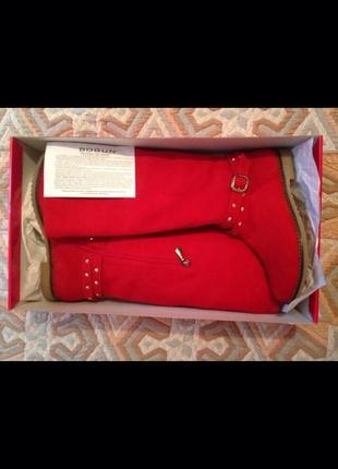Крутые красные сапоги3 фото
