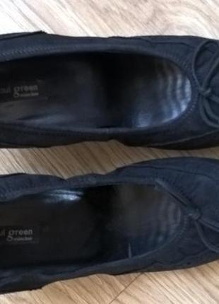 Кожаные  туфли  paul green