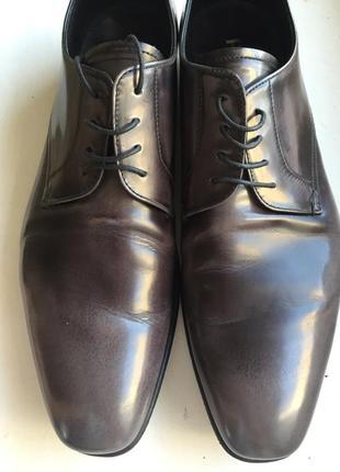 Мужские лакированные туфли prada1 фото