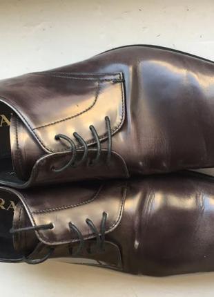 Мужские лакированные туфли prada2 фото