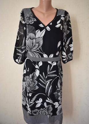 Платье с цветоцный принтом per una