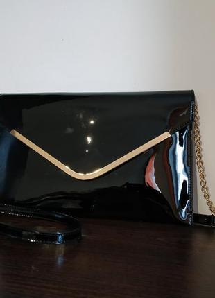 Лаковая сумочка david jones