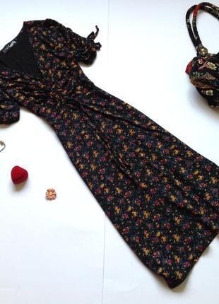 Платье миди в стиле винтаж