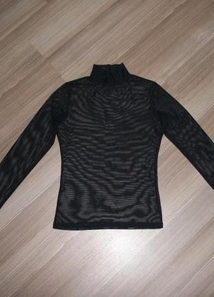 Гольф-сетка чёрного цвета, размер s