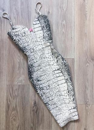 Платье миди signature