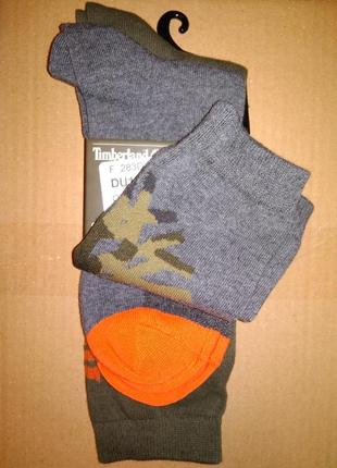 Носки комплект timberland высокие спортивные мужские 2 пары
