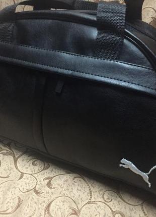 Сумка, спортивная сумка, ручная кладь, эко кожа