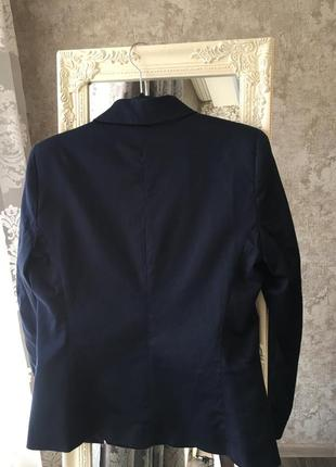 Темно-синий пиджак mango4 фото