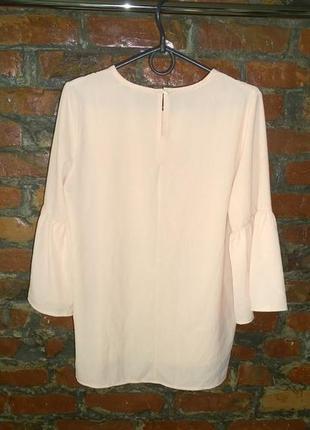 Блуза топ кофточка с рукавами воланами2 фото