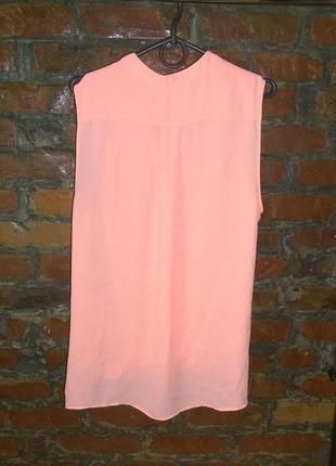 Блуза топ кофточка с драпировкой неонового оттенка river island2 фото