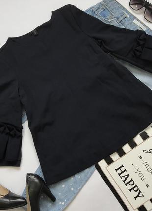 Оригинальная трикотажная кофта блуза трапеция от cos размер s/36/8.