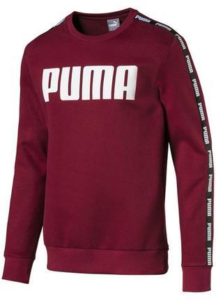 Модный свитшот puma mens tape crew sweat р. l оригинал