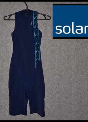 Брендовий костюм жіночий для плавання solar xxs-s [німеччина] (гидрокостюм женский)