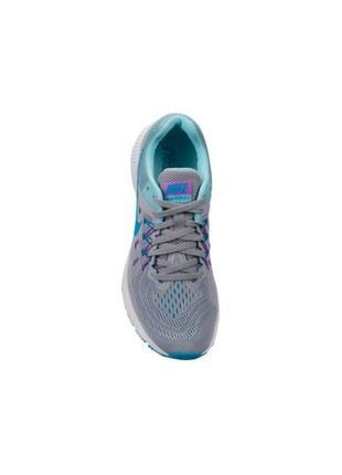 ff2cd483 ... Кроссовки для бега nike air zoom winflo 2 серый/фукция/голубой4 ...