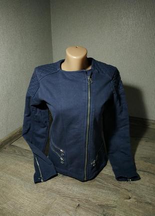 Курточка, мастерка косуха темно синего цвета от gap