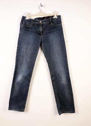 Ровные синие джинсы brax
