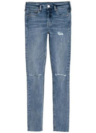 Брендовые джинсы h&m высокая посадка1