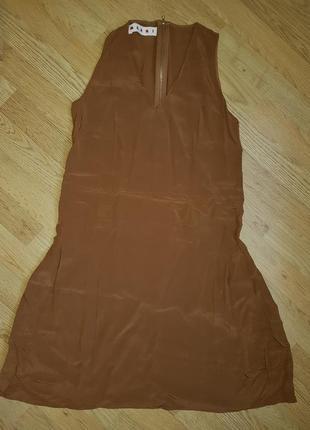 100% шёлк платье marni