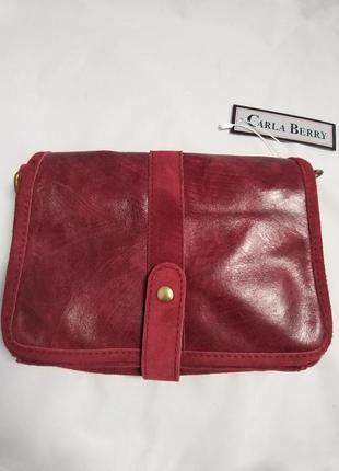 Женская кожаная сумка carla berry 69/183 фото