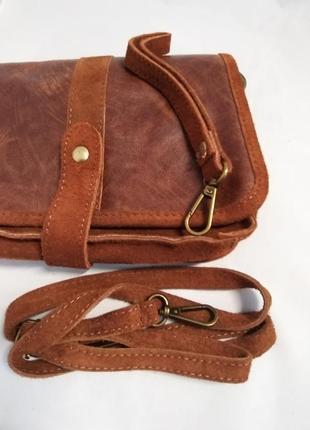 Женская кожаная сумка carla berry 69/188 фото