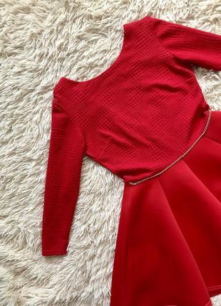 Прекрасное красное платье 💃🏼 из неопрена