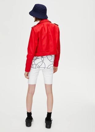Куртка из искусственной кожи5 фото