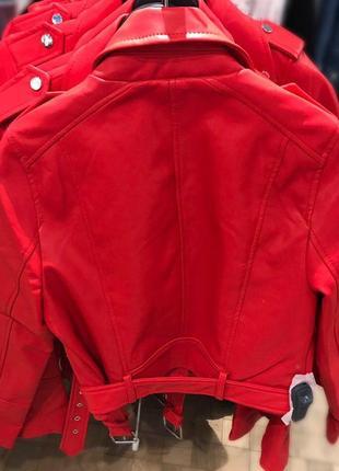 Куртка из искусственной кожи7 фото