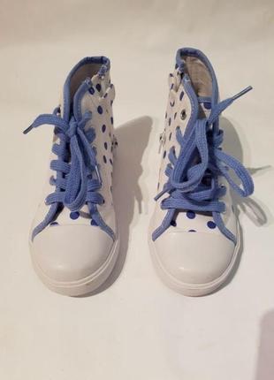 Кеды chicco, р.29-18,5см для девочки. новые кроссовки, мокасины, хайтопы