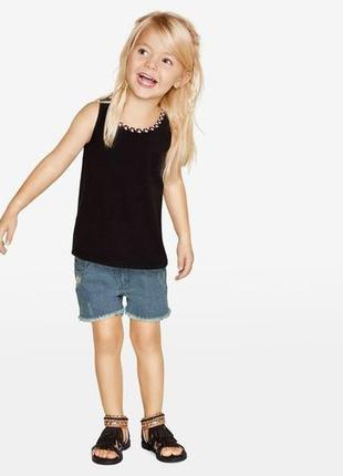 Стильная футболка на девочку от lupilu ! размер 110-116 см