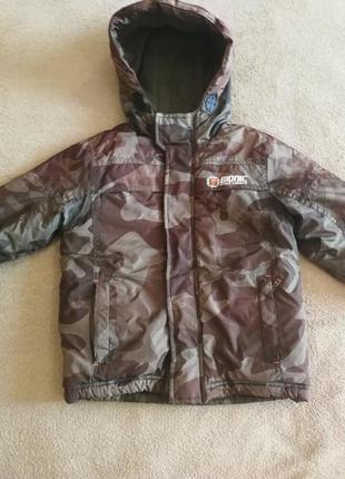 Куртка детская с капюшоном reserved 3-4 г., 105см