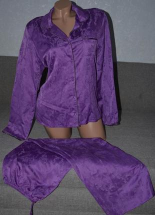 Пижама красивого сиреневого цвета