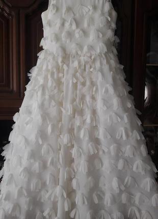 Шикарное стильное платье на выпускной в садик фотосесию