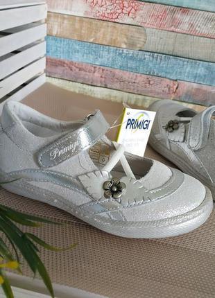 Новые кожаные туфли primigi. разм.24. италия4 фото