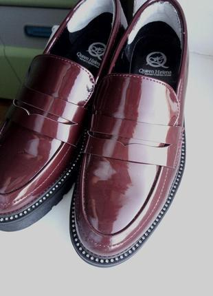 Cрочно. италия. модные удобные туфли броги дорогого итальянского бренд